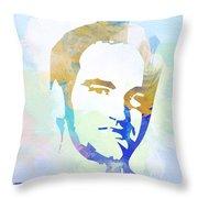 Quentin Tarantino Throw Pillow by Naxart Studio
