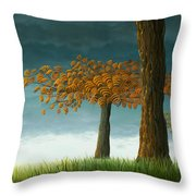 Quercus Corymbion Throw Pillow