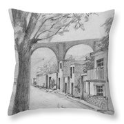 Queretaro, Mx - 1970 Throw Pillow
