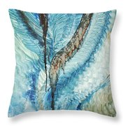 Quest I On Throw Pillow by Alan Schwartz