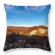 Questenberg, Suedharz Throw Pillow