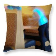 Quick Cleanup Throw Pillow
