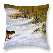 Quick Cover Throw Pillow