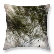 Quickly Throw Pillow by Carol Leigh