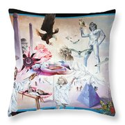 Quiet Afternoon At The Studio Throw Pillow