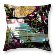 Quiet And At Peace Throw Pillow