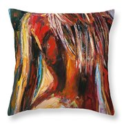 Quiet Breeze Throw Pillow