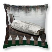 Quiet Day Off Throw Pillow