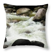Quiet - Mossman Gorge, Far North Queensland, Australia Throw Pillow