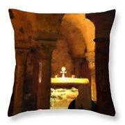 Quiet Prayers Throw Pillow