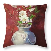Quiet Resilience Throw Pillow
