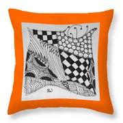 Quilt Makers Throw Pillow