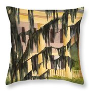 Quinby Plantation Throw Pillow