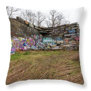 Quincy Quarries 2 Throw Pillow