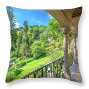 Quinta Da Regaleira Throw Pillow