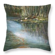 Quintessence Throw Pillow by Jan Byington