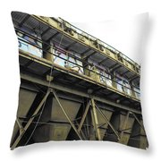 Quintuple Industrial Repeat Throw Pillow