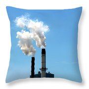 Quit Throw Pillow by Stephen Mitchell