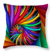 Quite Different Colors -16- Throw Pillow