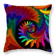 Quite Different Colors -17- Throw Pillow
