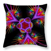 Quite In Different Colors -2- Throw Pillow
