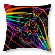 Quite In Different Colors -3- Throw Pillow