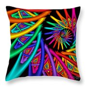 Quite In Different Colors -4- Throw Pillow