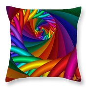 Quite In Different Colors -6- Throw Pillow