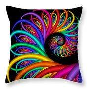 Quite In Different Colors -8- Throw Pillow