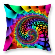 Quite In Different Colours -13- Throw Pillow