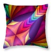 Quite In Different Colours -15- Throw Pillow