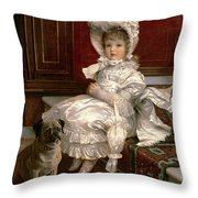 Quite Ready Throw Pillow by Philip Richard Morris
