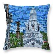 Quito, Ecuador Throw Pillow