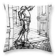 Quixote Museum Throw Pillow
