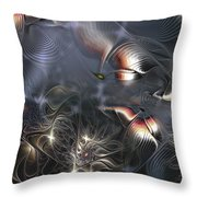 Quixotic Cerebrations Throw Pillow