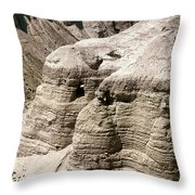 Qumran: Dead Seal Scrolls Throw Pillow