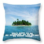 Quote1 Throw Pillow