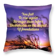 Quote4 Throw Pillow