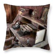 Qwerty Throw Pillow