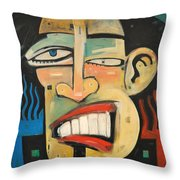 R And B Throw Pillow