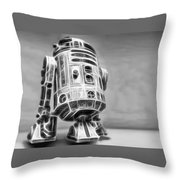 R2 Feeling Lonely Throw Pillow