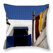 Rabat Morocco Throw Pillow by Peter Verdnik