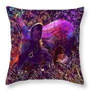 Rabbit Animal Baby Rabbit Bunny  Throw Pillow
