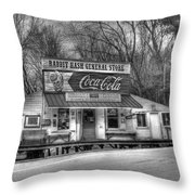Rabbit Hash General Store Throw Pillow