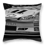Race Car Front Throw Pillow