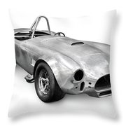 Race Car With Stripped Off Paint Throw Pillow by Oleksiy Maksymenko