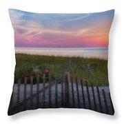 Race Point Sunset Cape Cod 2015 Throw Pillow
