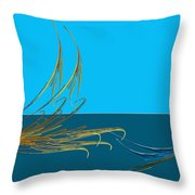 Racers Throw Pillow