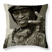 Racetrack Heroes 1 Throw Pillow