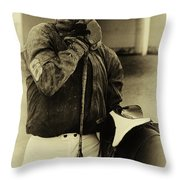 Racetrack Heroes 6 Throw Pillow